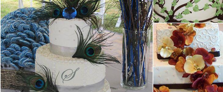 Bert's Bakery Wedding Cakes