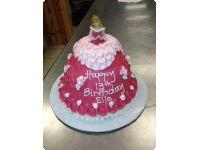 Custom Birthday Cakes