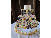 Bert's Bakery Custom Wedding Cupcakes
