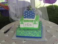 Bert's Bakery Custom Wedding Cake