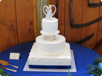 Bert's Bakery Custom Wedding Cake