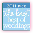 2011 The Knot Pick for Best of Weddings - Bert's Bakery
