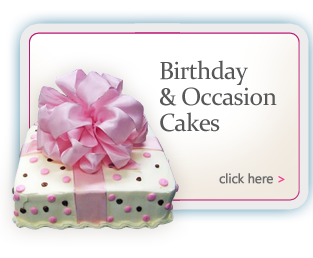 Birthday and Occasion Cakes by Bert's Bakery