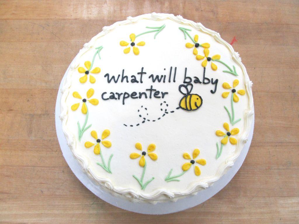 Baby Shower/Gender Reveal Cakes   Bert\'s Bakery