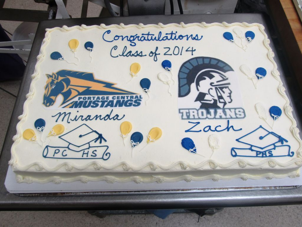 Graduation Cakes Michigan
