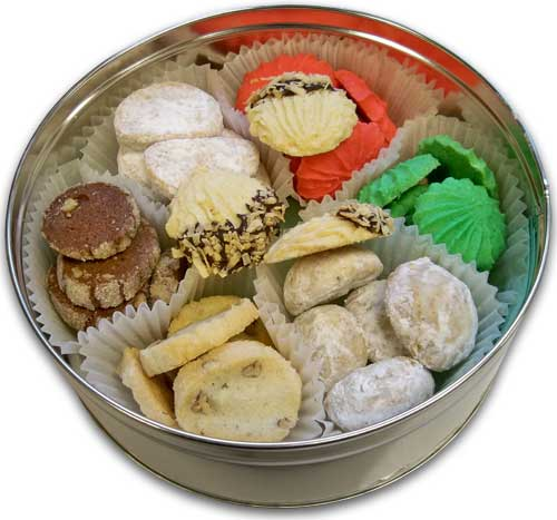 Tea Cookies Tin